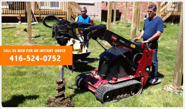 Post Hole Digger Post Hole Digging Fence Or Deck Repair